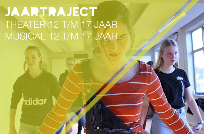 jaarcursus theater of musical 12-17 jaar